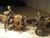 Pferdekonvoy mit Flak