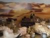 Detail Mauer und Panzer
