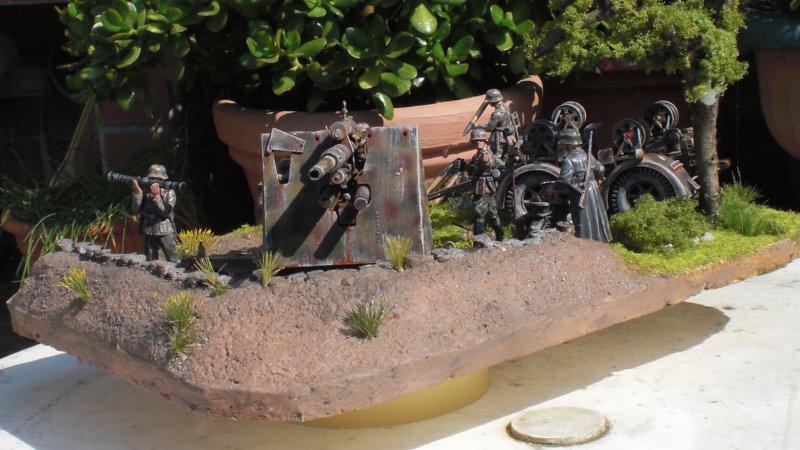 fertiges (überarbeitetes) Diorama