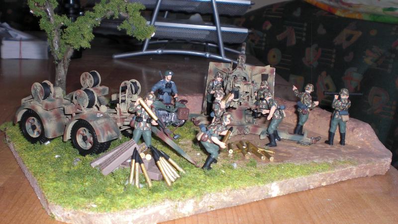 FLAK 88mm Vorderansicht