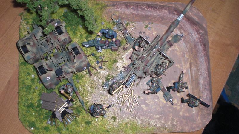 FLAK 88mm von oben