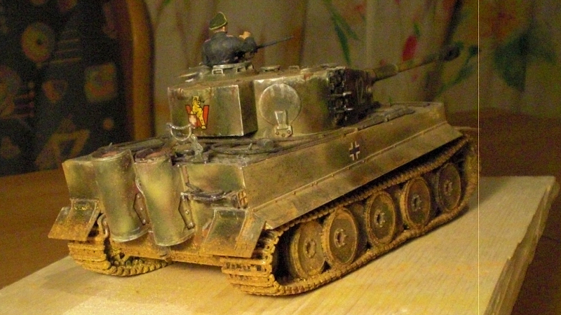Tiger 1 Panzer der dt. Wehrmacht (2. Weltkrieg)