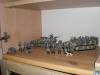 Figuren und Fahrzeuge fertig aufgebaut