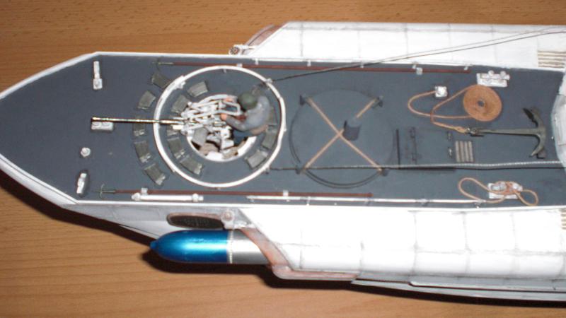 Schnellboot S100 - Detail vorderer Kanonier