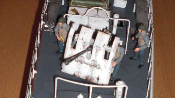 Schnellboot S100 - Detail große Kanone