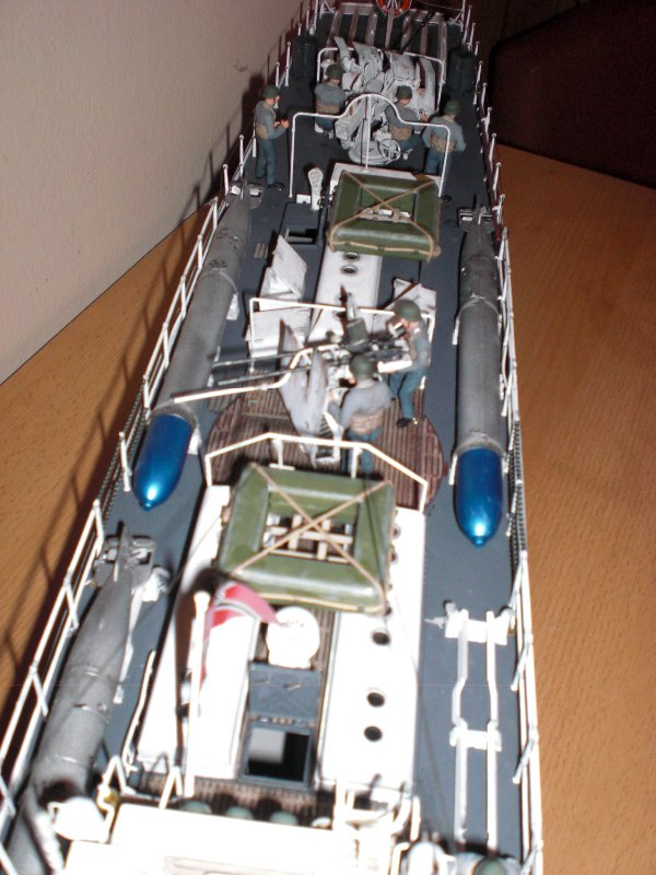Schnellboot S100 - Detail hinterer Bereich