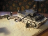 Detail: Panzer im Schnee