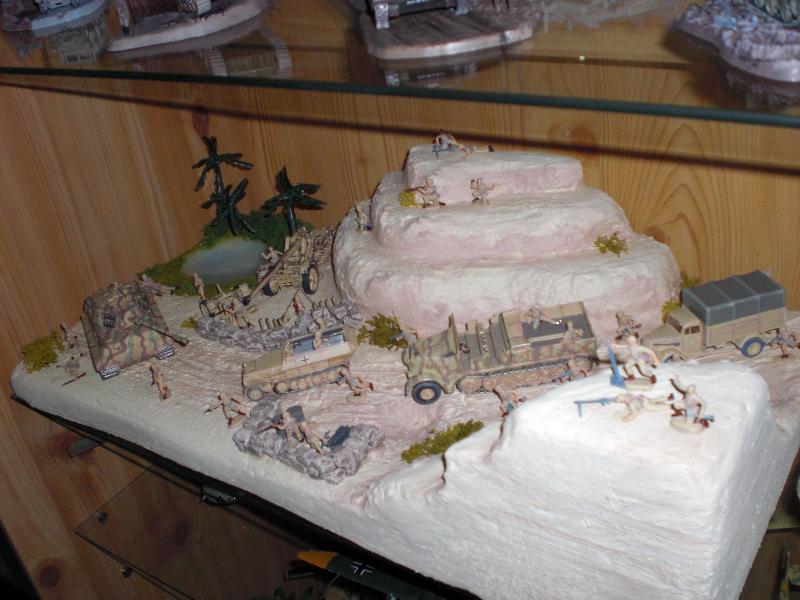 wüsten diorama bauen