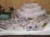 Fertiges Wüsten-Diorama, Vorderansicht