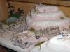 Fertiges Wüsten-Diorama, im Schaukasten