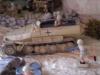 Wüsten-Diorma: Detail Mittlerer Zugkraftwagen 5 t Mannschaftstransporter